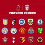 อัพเดตตารางคะแนนพรีเมียร์ลีก อังกฤษ ฤดูกาล 2019/20